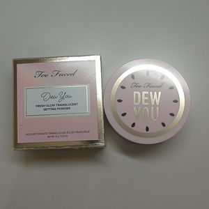 Too Faced dew you setting powder